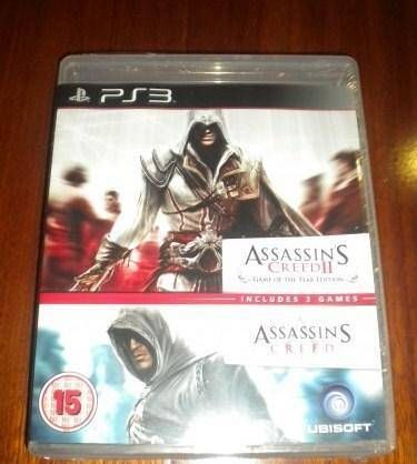 Assassin's Creed 1 and 2 Double Pack - PS3
