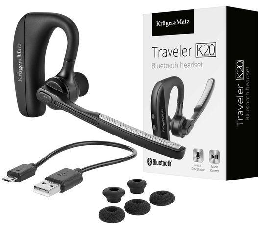 Słuchawka Bluetooth do telefonów Xiaomi KRUGERMATZ Traveler K20