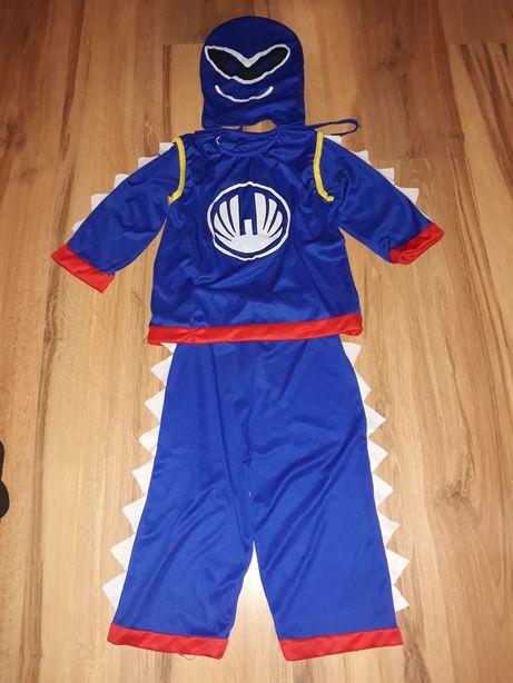 Niebieski stroj kostium karnawalowy bal przebranie 110, 116 122