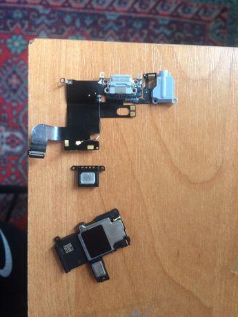 Шлейф и два динамика iphone 6 с разборки(оригинал)
