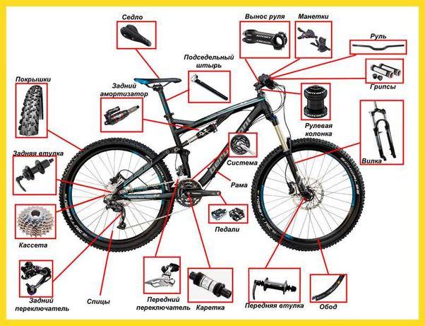 Ремонт велосипедів, Луцьк, велоремонт, в місті та на дому, продаж
