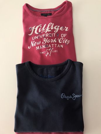 Sweatshirt TommyHilfiger e PepeJeans