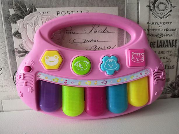 Zabawki dla dzieci - Różowe Pianinko - Smily Play
