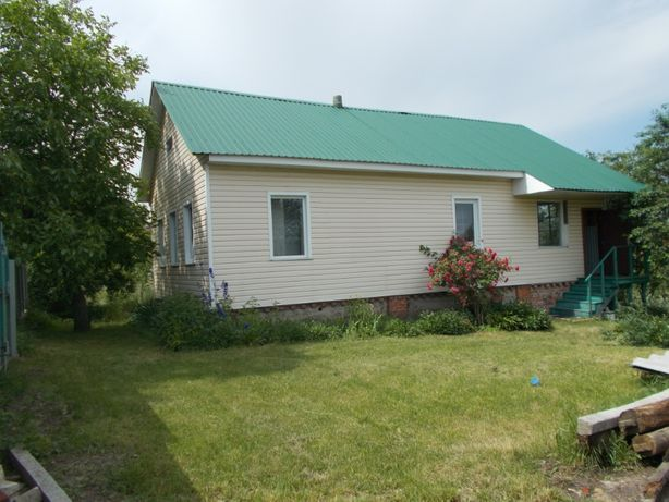 Продам будинок 80 м2 та зем.діл 25 соток в с. Киїнка, Черніг-го р-ну.
