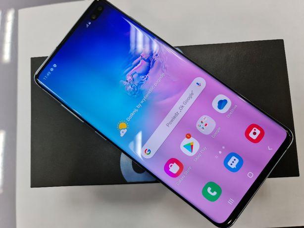 Samsung Galaxy S10 Plus 128GB Dual SIM/ Niebieski/ Gwar prod/ Ideał!