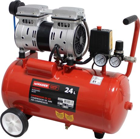 Compressor de Ar Silencioso - 24 Litros