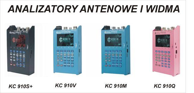 KC901 analizatory antenowe i widma 4-20GHz