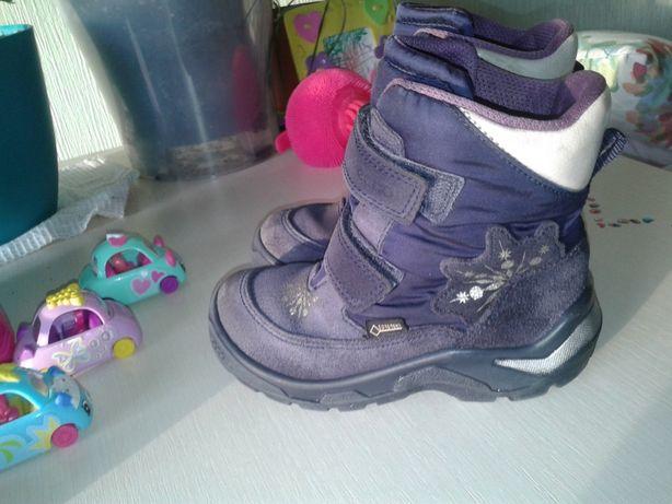 Зимние ботинки Ессо 27 разм девочке