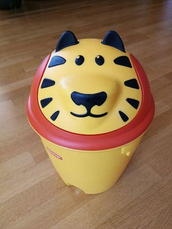 Kosz na śmieci dziecięcy - tygrysek