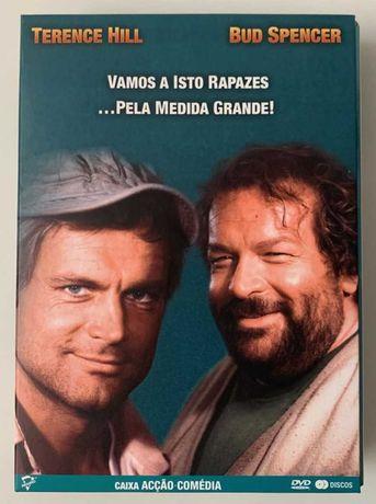 DVD - Pack 2 Filmes com Terence Hill (Trinitá) e Bud Spencer