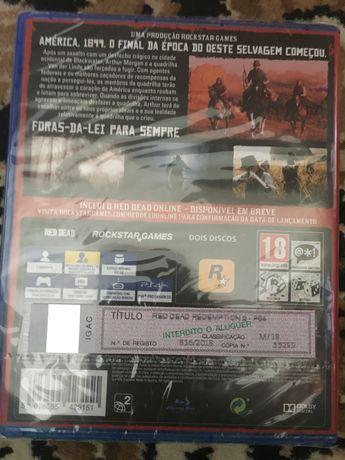 Jogo PS4 novo, por abrir