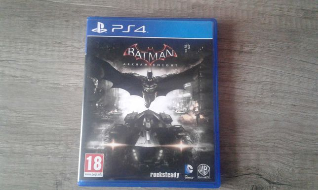 Batman Arkham Knight Ps4  Zamienię