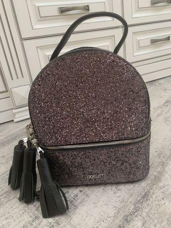 Fidelitti Кожаный рюкзак с кисточками из линии Salerno.
