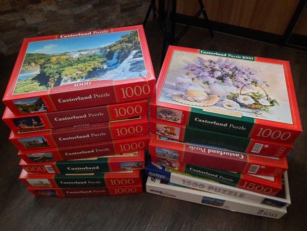 Пазлы разные - 1000, 1500 - Castorland Puzzle