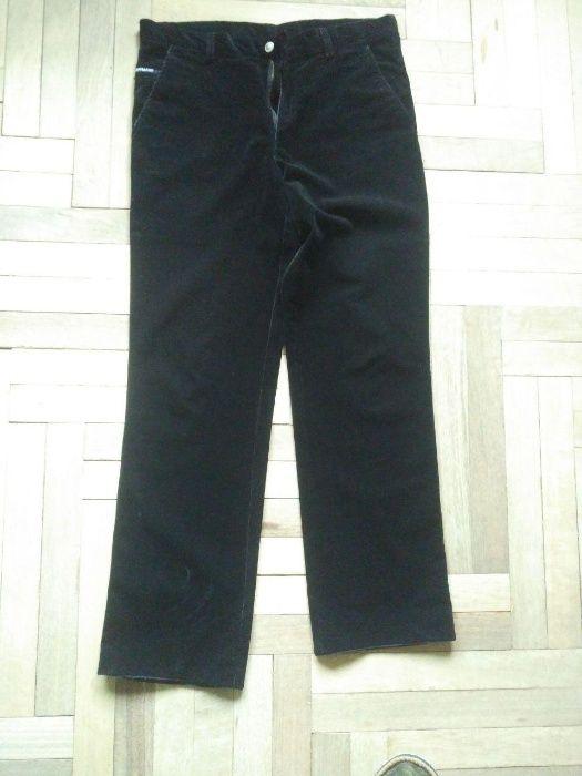 Вельветовые черные штаны Armani Львов - изображение 1
