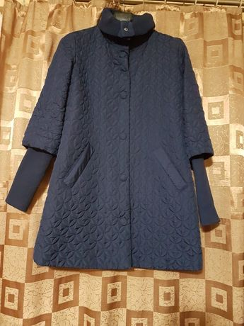 Синяя куртка размер 40