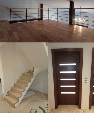 Montaż stolarki- drzwi, podłogi, schody itp. PRZYJMĘ ZLECENIA!!!