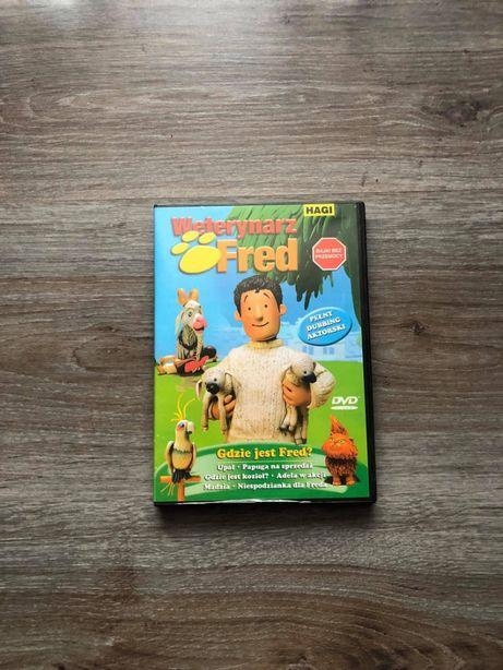 Bajka Weterynarz Fred na DVD / Wysyłka.
