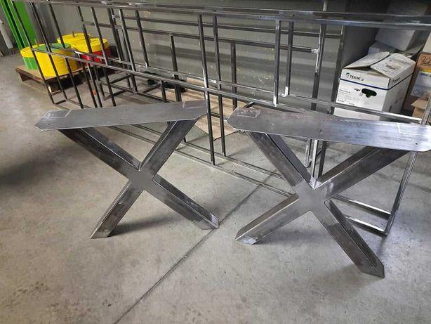 biurko, konsola , stół dębowy , Spawanie konstrukcji metalowych Loft