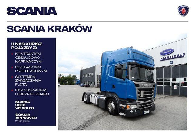 Scania R410 La4x2meb Mega  Scania Polska Oddział Kraków