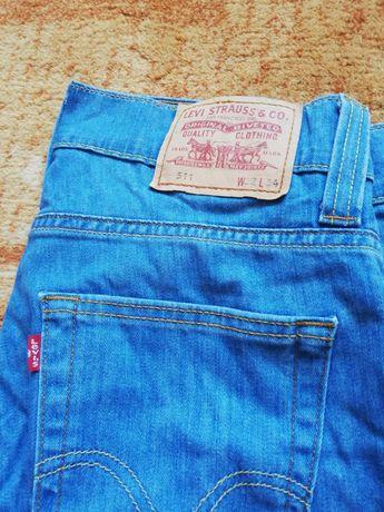 Spodnie jeans Levi's 511 W32 L34