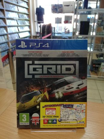 PS4/PS5 Grid Ultimate Edition PL Nowa Playstation 4 Playstation 5