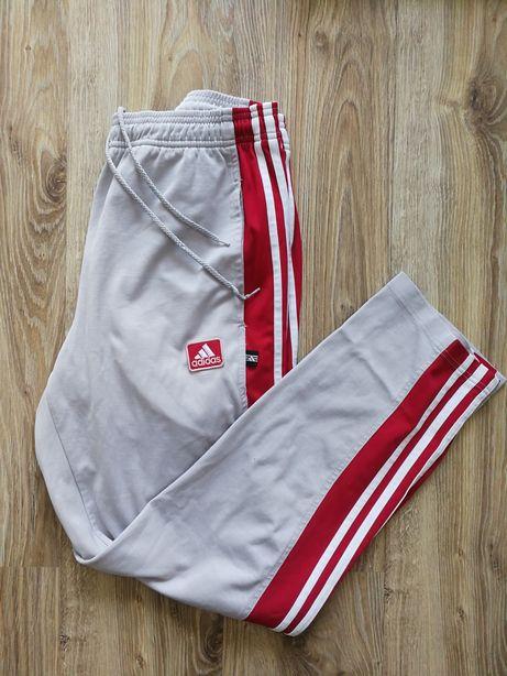 Dresy Adidas biało czerwone