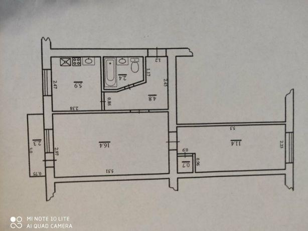 Продам 2 кімнатну квартиру центр міста р-н Універмагу.