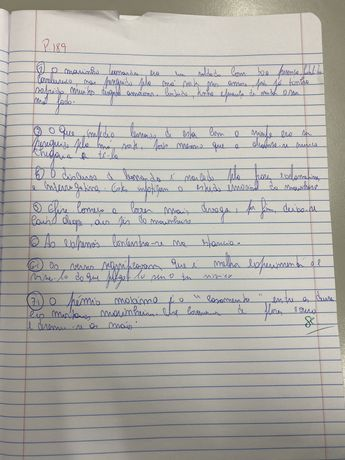 Vendo pagina de caderno assinada 1000€