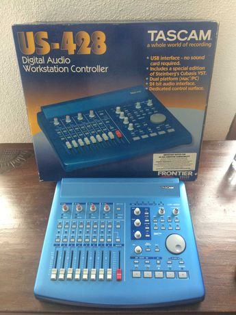 TASCAM US-428 Controlador Áudio (Workstation e como mesa de mistura)
