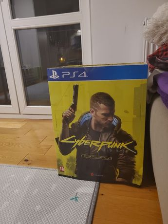 Cyberpunk 2077 PS4 Edycja kolekcjonerska