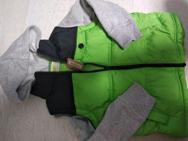 Новая жилетка Crazy8 с рукавами и капюшоном