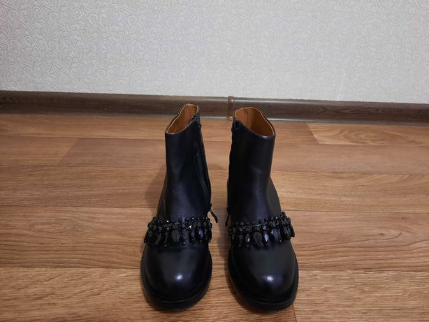 Ботинки осенние из эко кожи