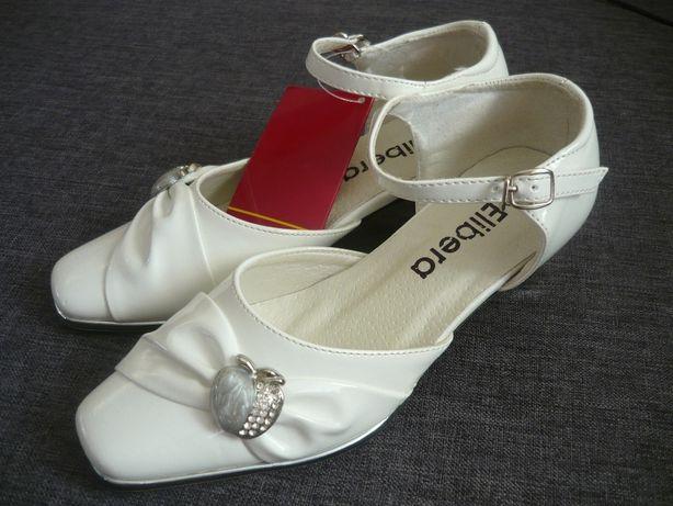 Nowe pantofelki r.32/33-komunia, wesele i inne ok.(21,5cm)