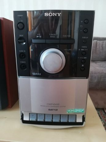 Mini Wieża Alba LCD CD Micro Muzyka Głośniki Kolumny Lub Sony