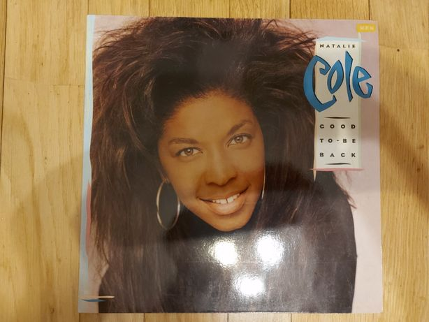 Natalie Cole, Good To Be Back, HOL, 1990, db+,