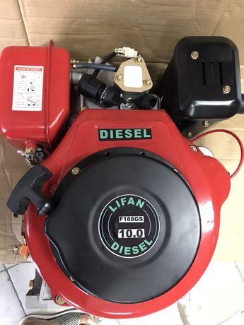 Двигатель на мотоблок RT дизель 7.5 л.с.