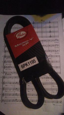 Pasek klinowy GATES MICRO-V 6 PK 1195 6PK1195