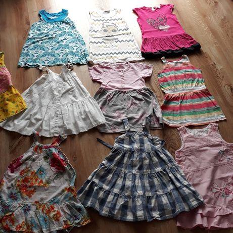 Letnie sukienki roz. 92