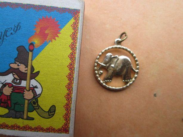 Кулон слон.