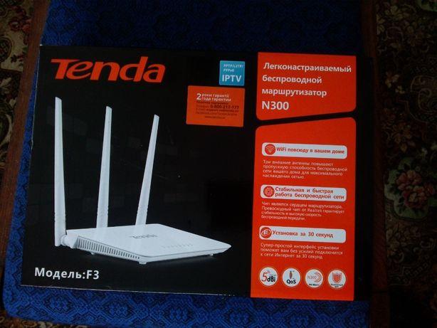 WIFI роутер Tenda F3 (N300)