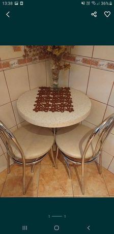 Stolik z krzesłami komplet
