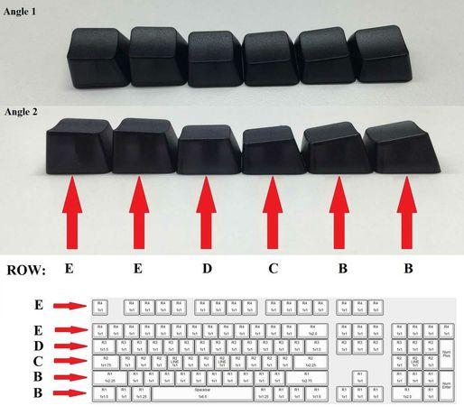 Набор PBT кекапи (колпачки,клавиатура,механическая)