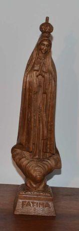 Nossa Senhora de Fátima, estatueta em madeira