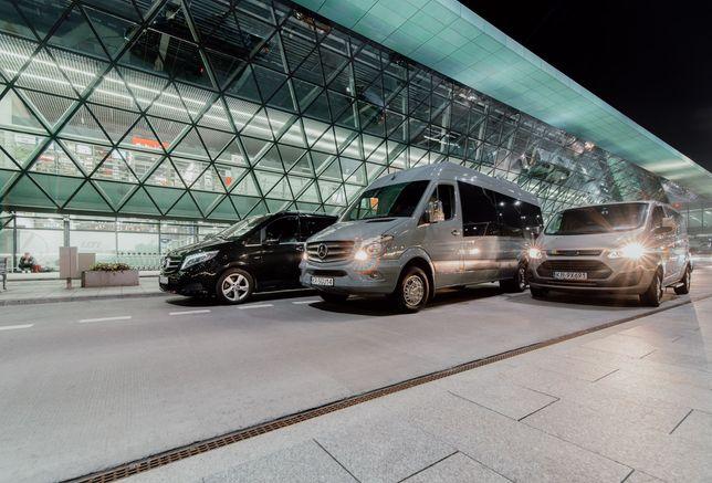 Vany, taxi, auta z kierowcą, przewóz osób, wynajem busów z kierowcą