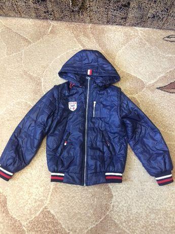 Куртка бомбер ветровка весенняя демисезонная  на мальчика 10 лет