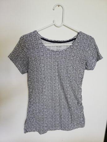 Ubrania ciążowe koszulki t-shirt spodnie legginsy H&M Esmara r. s