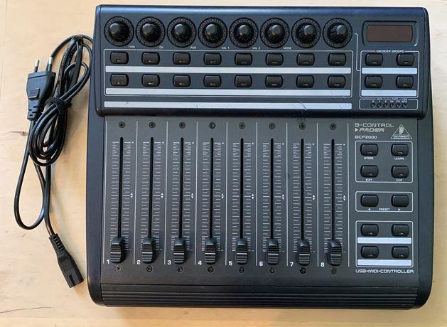 Behringer BCF2000 USB MIDI контроллер