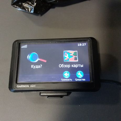 GPS навигатор Garmin navi 760 в комплекте
