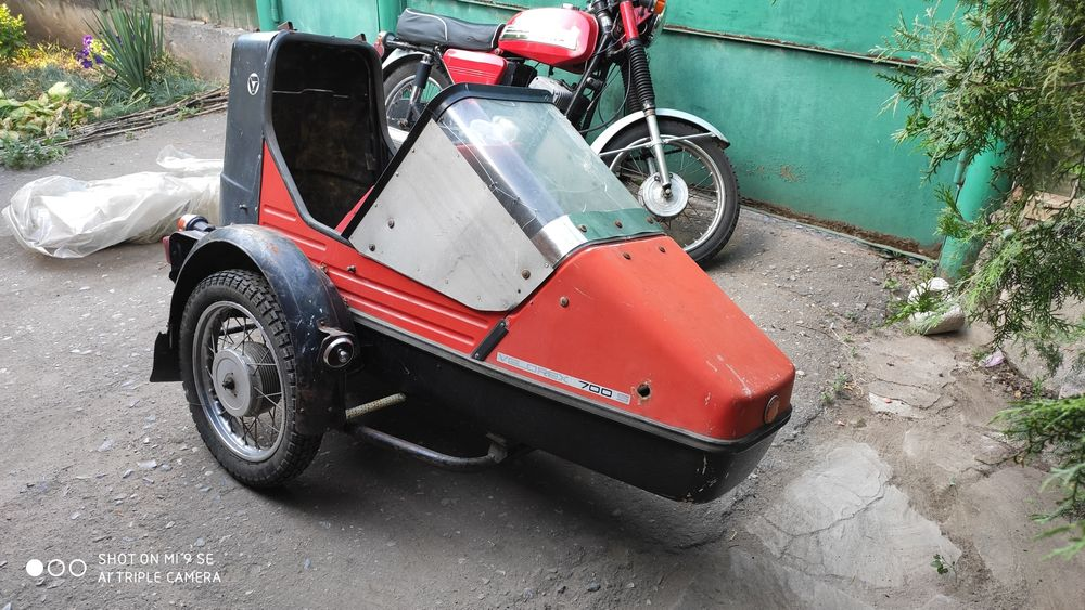 Velorex 700s чешская коляска для явы 634-638 jawa Константиновка - изображение 1